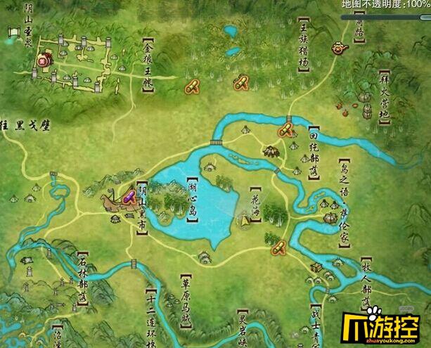 剑三老长安地图