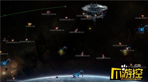 揚帆星際 《星盟沖突》新手攻略資源篇