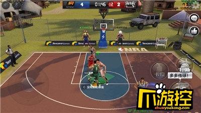 最强NBA手游3v3排位中锋上分技巧分享-爪游控