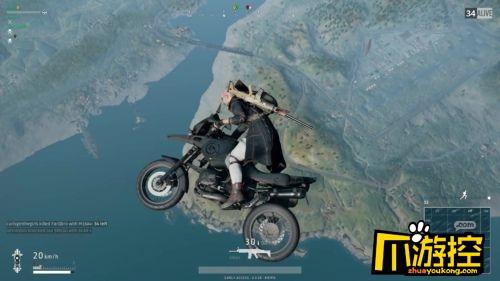 绝地求生刺激战场摩托车怎么压车头 摩托车空翻操作攻略