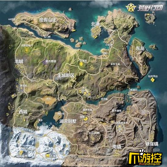 荒野行动pc什么时候出新地图_荒野行动pc版新地图要出了吗