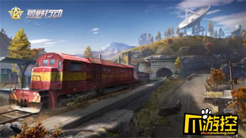 荒野行动火车在哪里_火车位置介绍