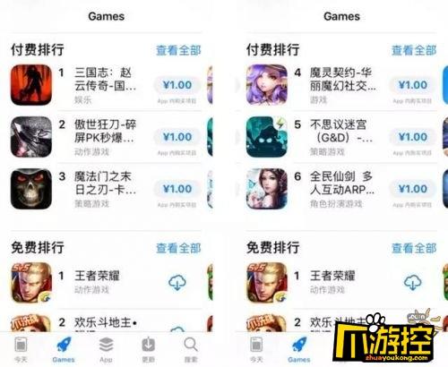 苹果app商店改版