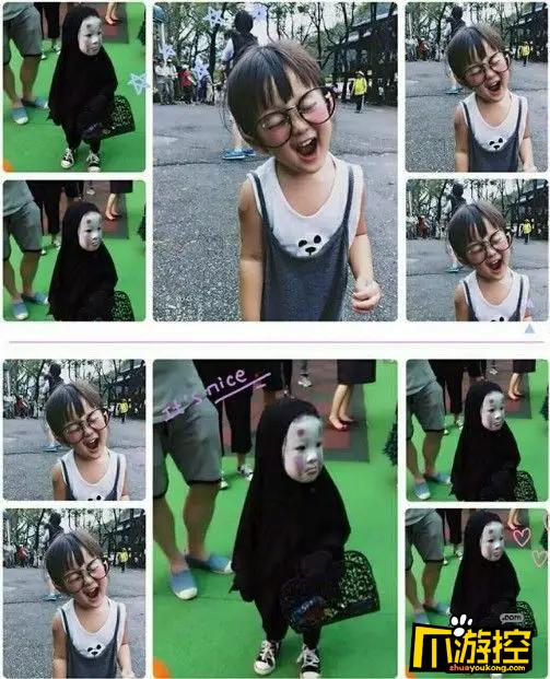 是个非常可爱的小女孩