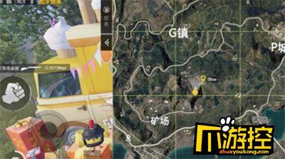和平精英矿场的打卡点具体位置介绍