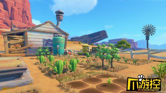 沙石镇时光游戏评测,草原上大搞生产建设