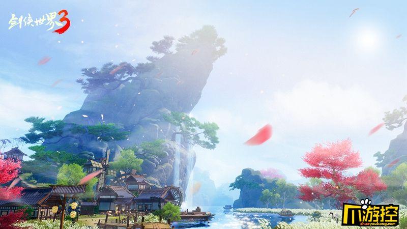 次世代武侠觉醒,剑侠世界3安卓首测今日开启