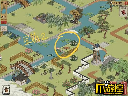 江南百景图杭州探险第一章宝箱在哪里,江南百景图杭州探险第一章宝箱位置一览