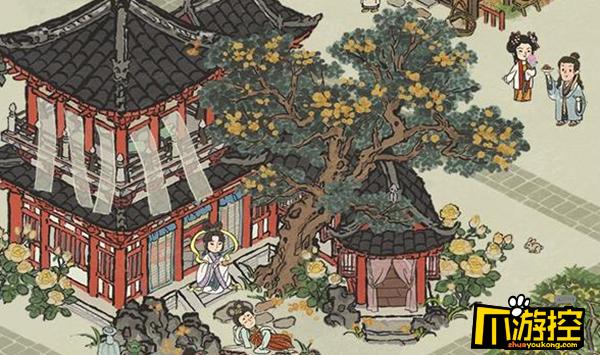 江南百景图中秋节建筑一览.png