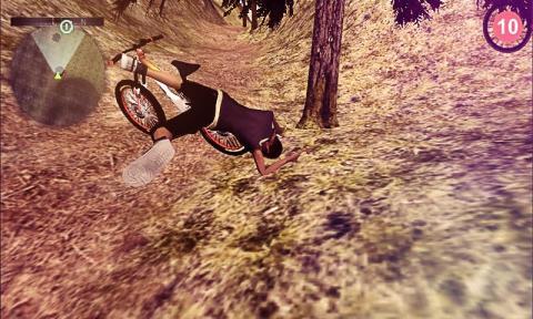 山地自行车骑手