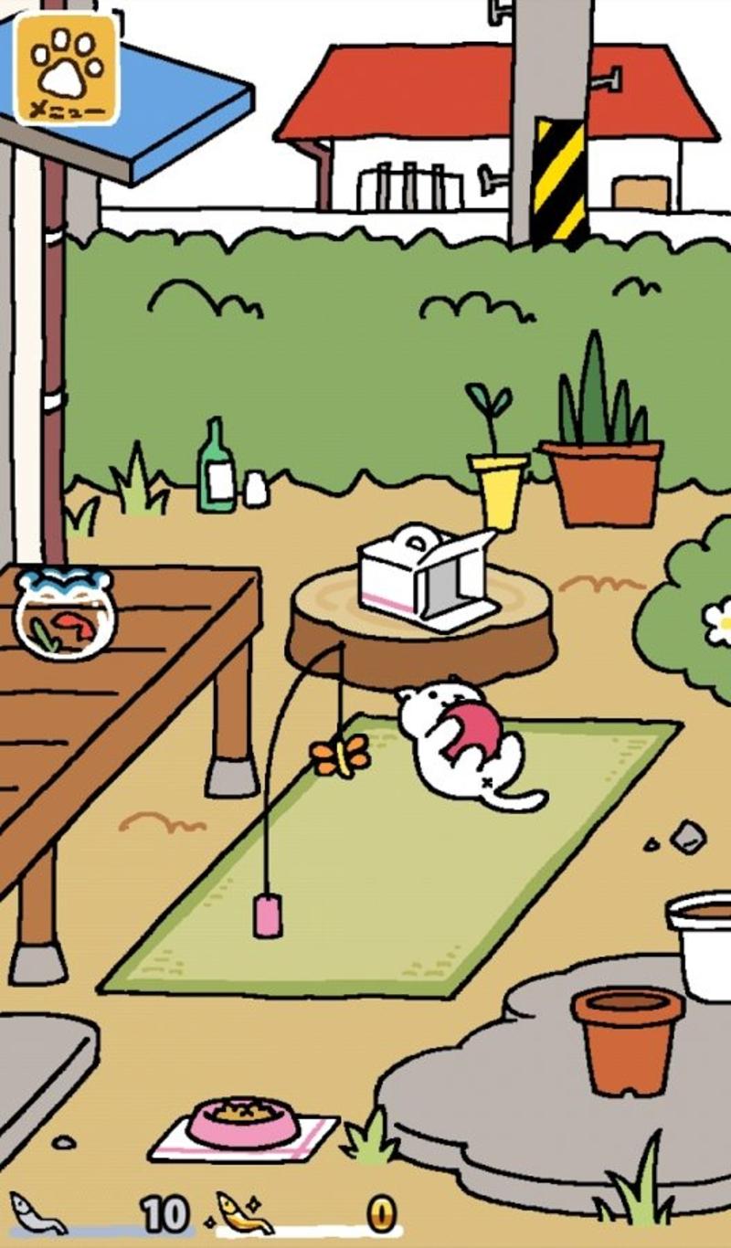 猫咪后院游戏截图