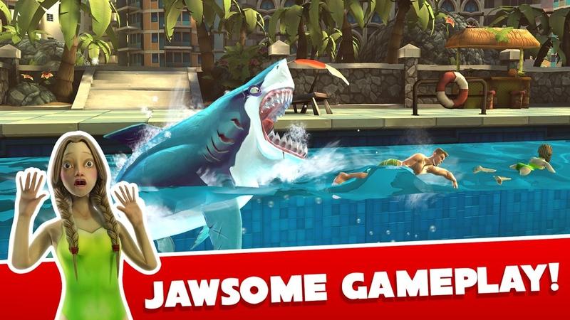 饥饿鲨:世界游戏截图5