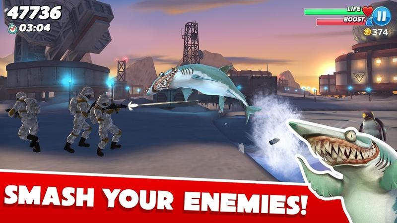 饥饿鲨:世界游戏截图4