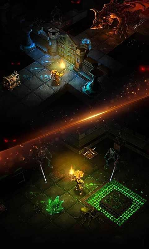 黑暗城堡游戏截图