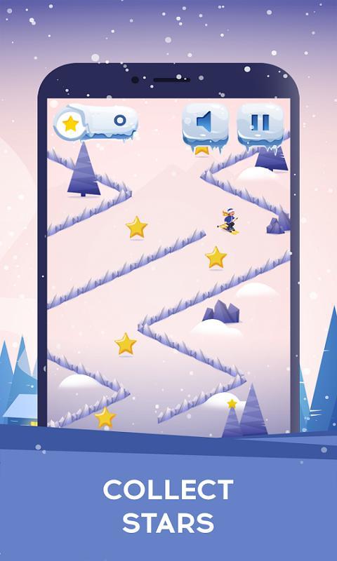 折线滑雪游戏截图
