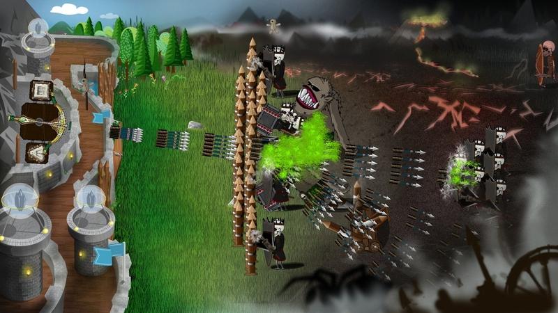 冷酷防御者城堡塔防