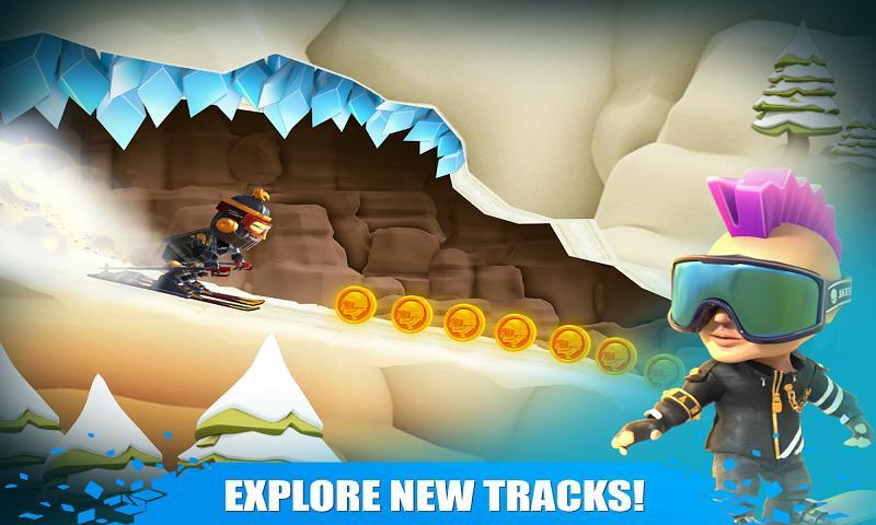 滑雪试炼游戏截图
