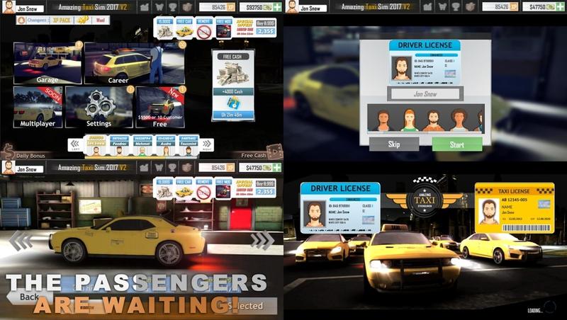 出租车模拟驾驶
