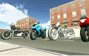 摩托车赛车3D