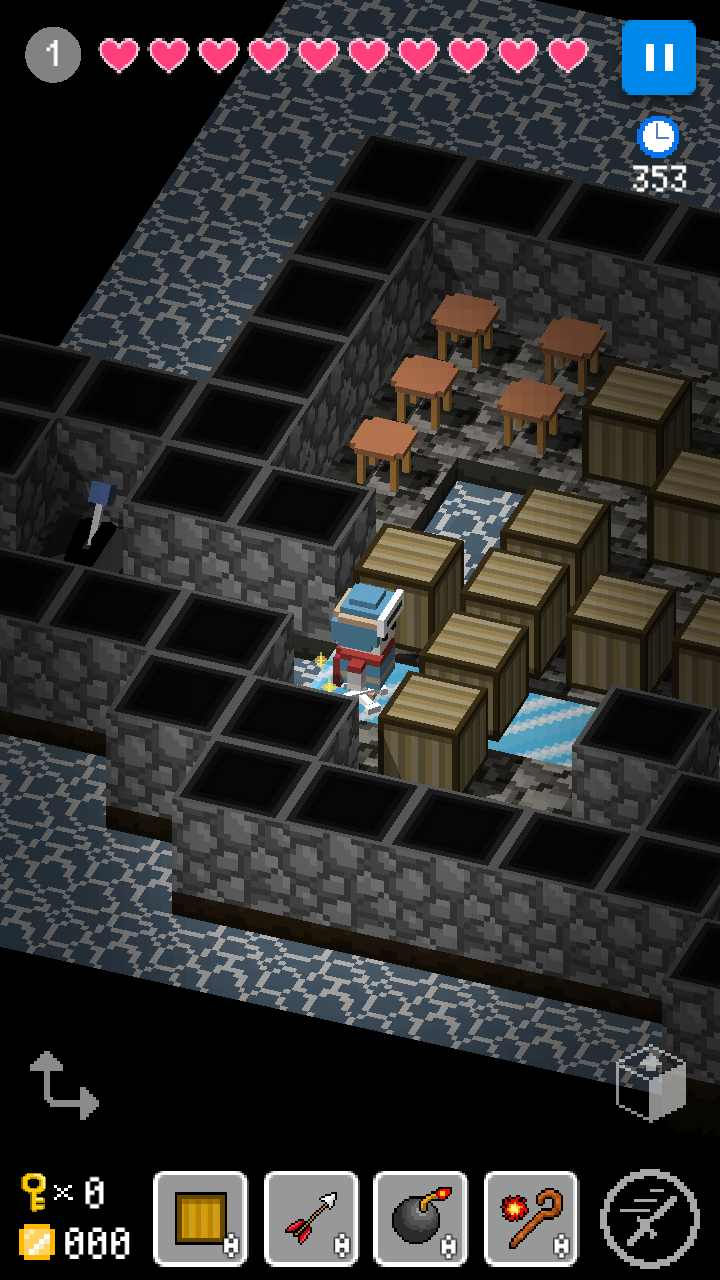 方块建造探索游戏截图1