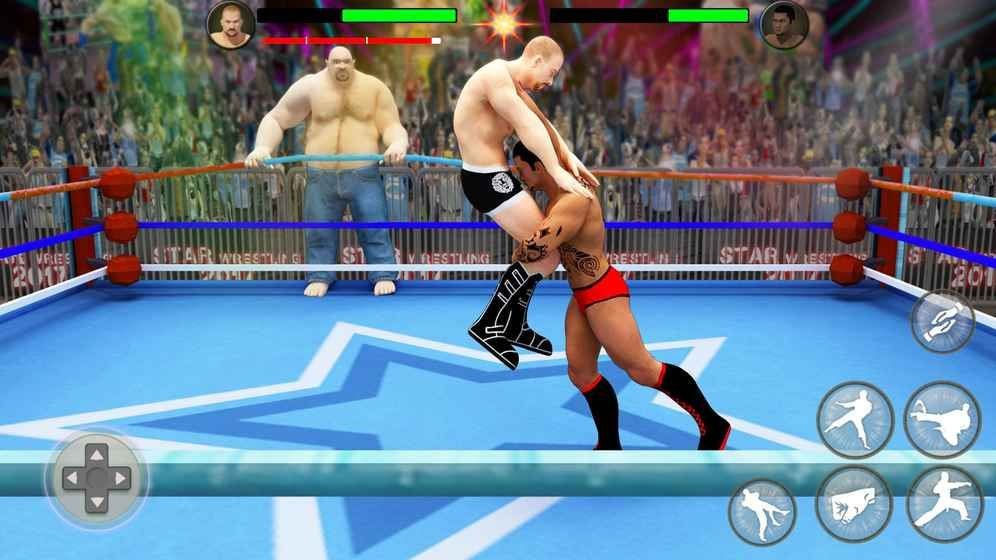 世界标签队摔跤革命锦标赛游戏截图4
