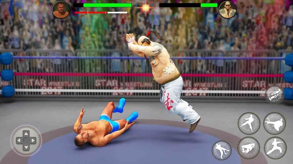 世界标签队摔跤革命锦标赛游戏截图3