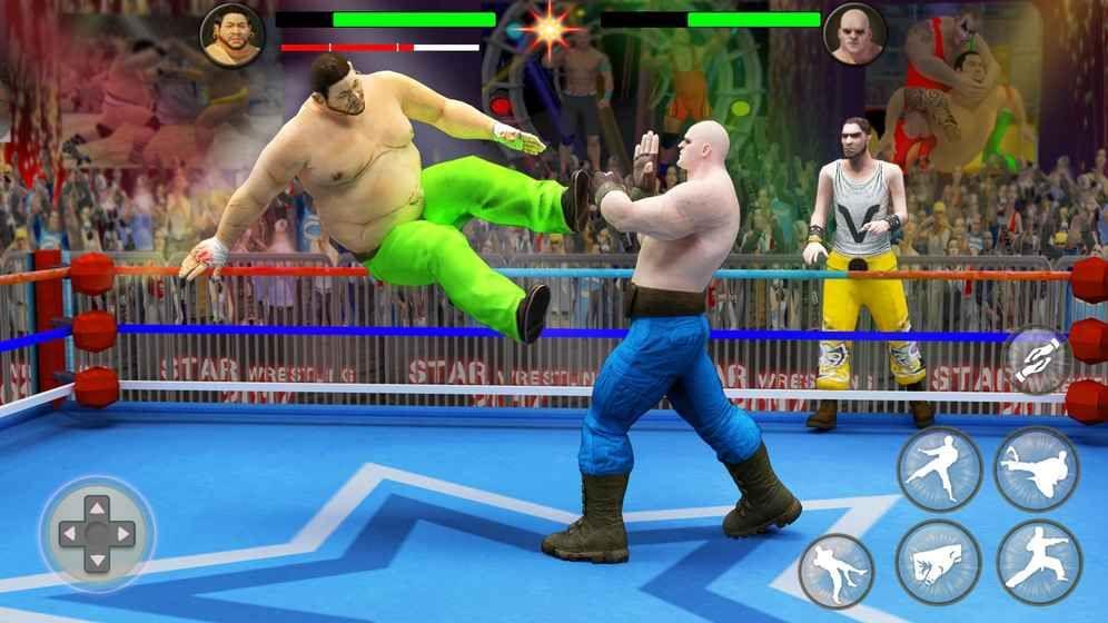 世界标签队摔跤革命锦标赛游戏截图2