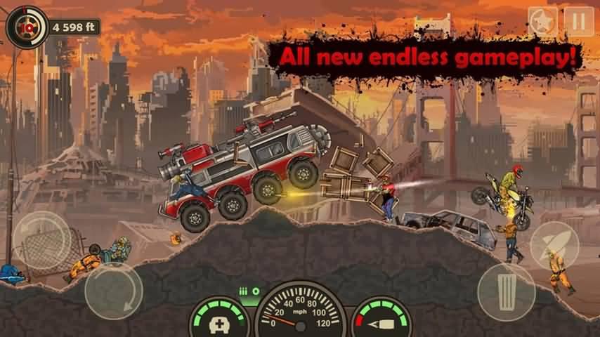 战车撞僵尸3(无限金币版)_战车撞僵尸3破解版下载_安卓破解游戏免费下载_爪游控游戏截图5