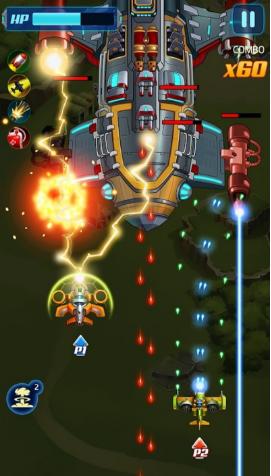 空军X战争射击游戏