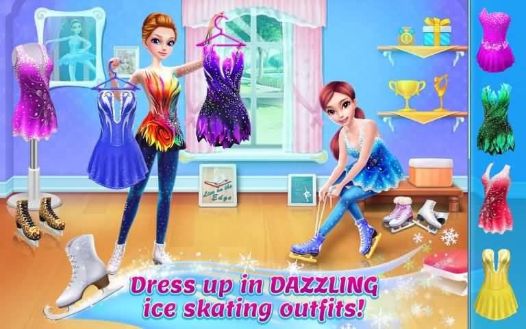 冰上芭蕾女孩