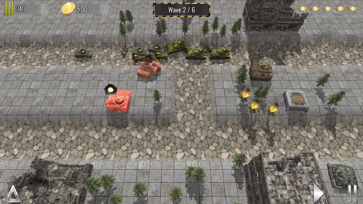 塔防帝国游戏截图