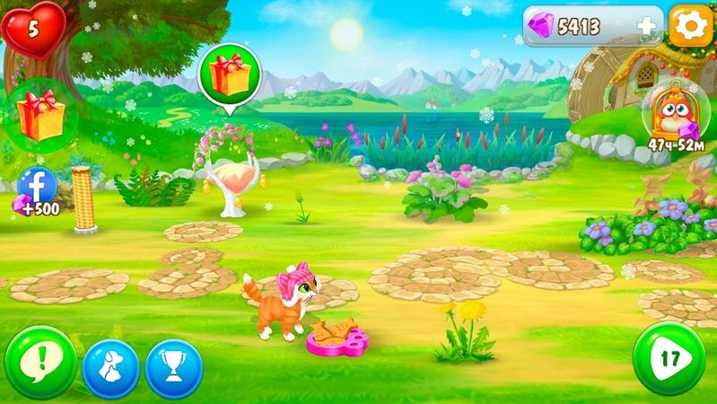 花园宠物游戏截图