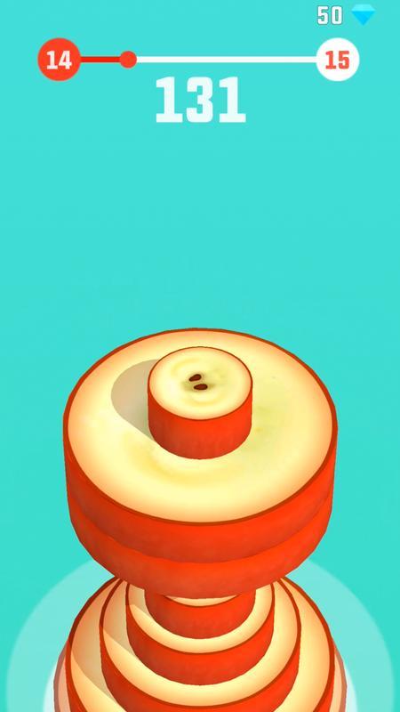 水果堆叠游戏截图3