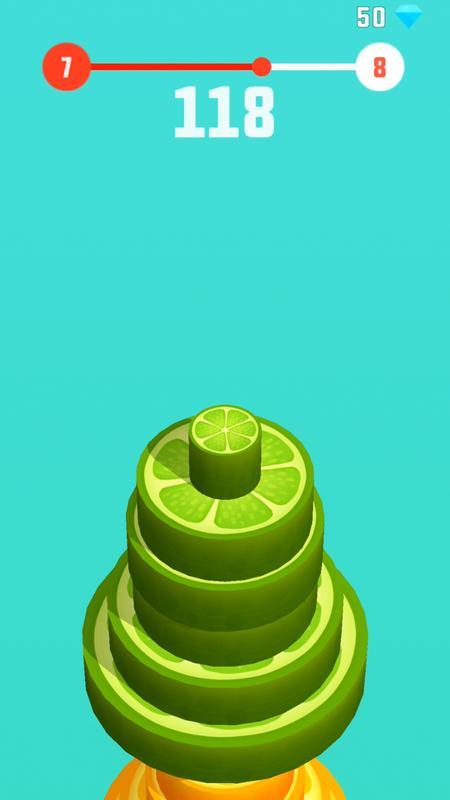 水果堆叠游戏截图4