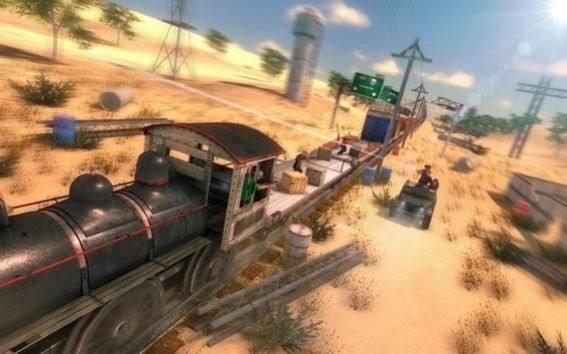 火车牛仔大战无敌版游戏截图1