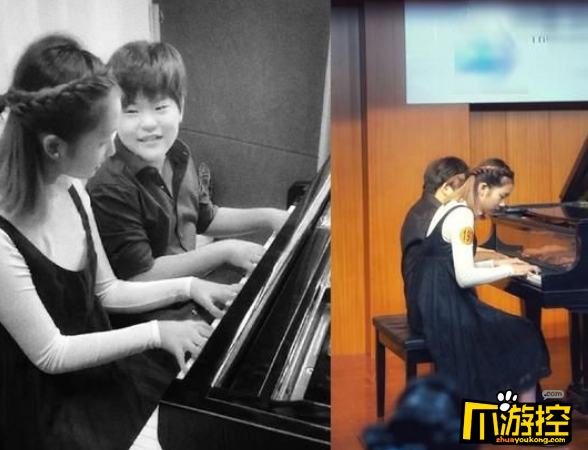 黄磊女儿获钢琴弹奏五个一等奖,网友大呼:才貌双全