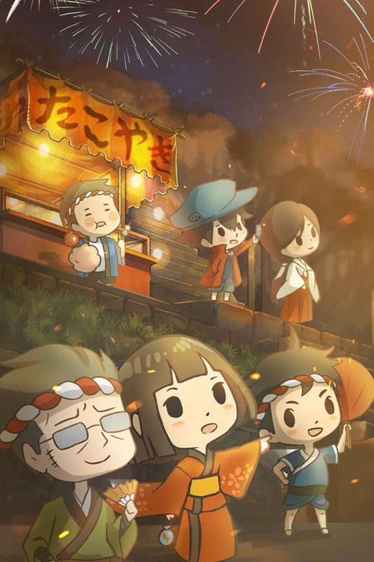 昭和盛夏祭典故事游戏截图4