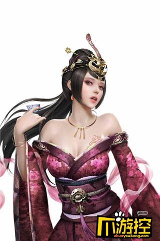 红粉佳人 美如冠玉《三国群英传-霸王之业》后宫妃子盘点