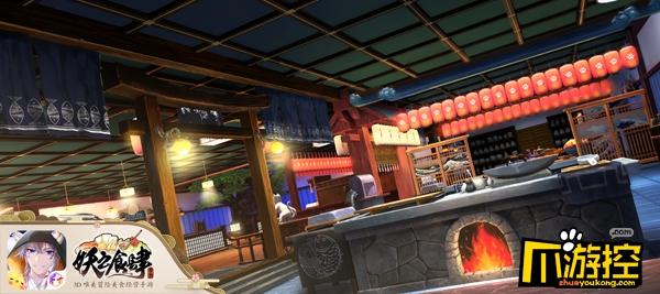 三界的移动餐厅 探索《妖之食肆》店铺的秘密