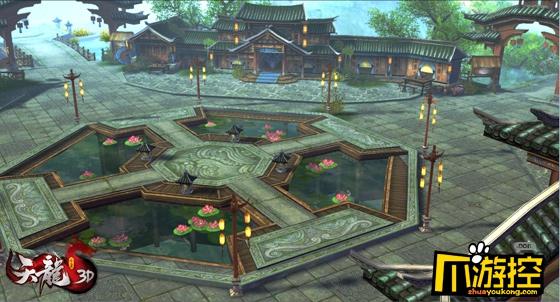 《天龙3D》地图也整容,新旧对比你爱哪一个?