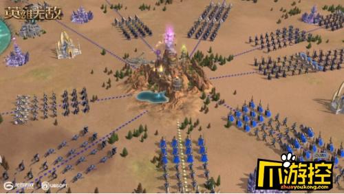 史诗战争 巅峰对决 《魔法门之英雄无敌:王朝》新玩法王权之眼重磅上线!