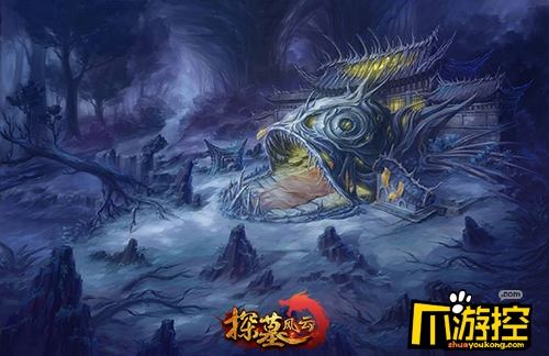 《探墓风云》3D探险手游 地宫原画首曝