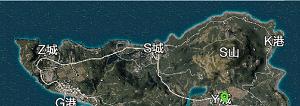 绝地求生全军出击地图多大_全地图详解3