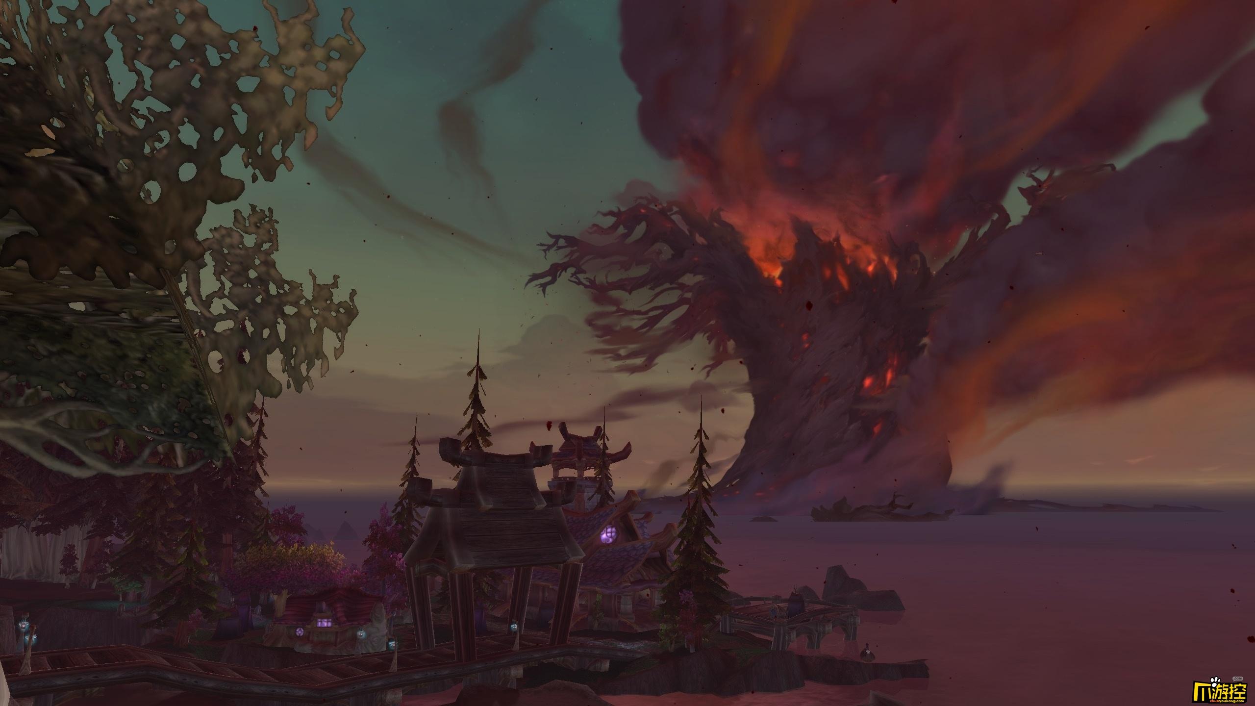魔兽世界8.0泰达希尔怎么被烧了