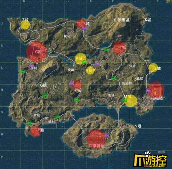 绝地求生刺激战场海岛军事基地怎么打_海岛军事基地打法攻略
