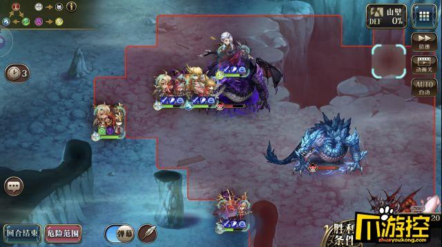 梦幻模拟战手游冰暗双龙挑战本通关攻略