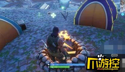 堡垒之夜互动篝火怎么使用?互动篝火使用攻略