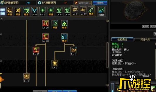 DNF3.7版本瞎子技能加点攻略