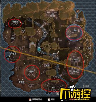 Apex英雄地图哪个位置肥?肥沃地图资源位置大全
