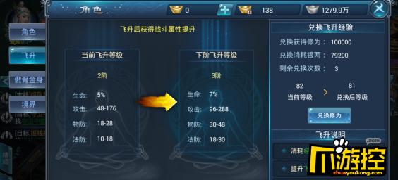 武炼巅峰BT版怎么飞升?飞升系统攻略